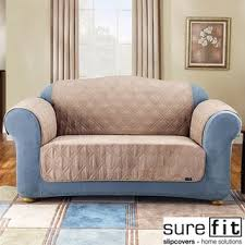 Loveseat Throw Cover Sure Fit Loveseat Covers U0026 Slipcovers Shop The Best Deals For