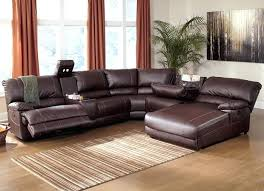 Modern Reclining Leather Sofa Sectional Reclining Sofa Recliner Sectional Sofas Brown