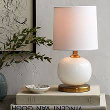 Mini Accent Table Lamps Modern Table Lamps West Elm