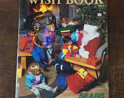 the christmas wish book sears wish book etsy