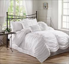 bedroom amazing white fluffy comforter queen full size bed
