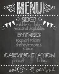 how to make your own printable chalkboard sign font combos