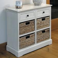Wicker Storage Bench Cabinet With Basket Storage Chateau Range Ivory Wicker Storage