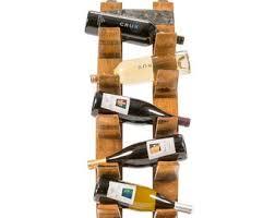 wall mount wine rack etsy