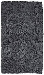 Dark Teal Bathroom Rugs by Amazon Com Pinzon 100 Cotton Looped Bath Rug With Non Slip