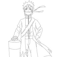 Dessins Gratuits à Colorier  Coloriage Naruto à imprimer