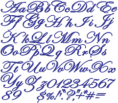 calligraphy fonts for tattoos