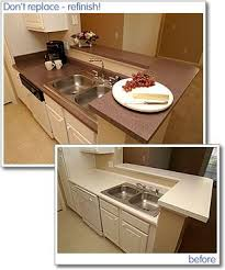 Painted Kitchen Countertops by 51 Best Countertop Refinishing Images On Pinterest Bathroom