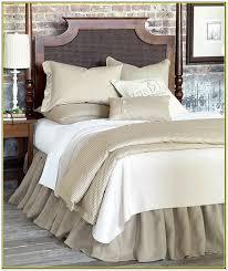 Burlap Bed Skirt Burlap Bedskirt King Home Design Ideas