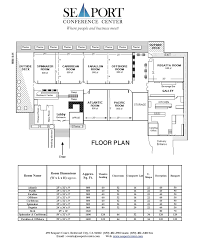 Floor Plan Com by Floor Plan Seaport Conference Center Host Meetings Training