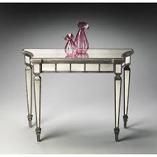 Mirrored Console Table Butler Specialty Emerson Mirrored Console Table 7544827 Hsn