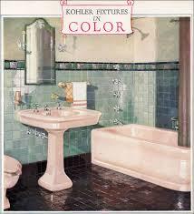 French Bathroom Fixtures 1928 Kohler Bathroom Plumbing Fixtures Ivory Green Mahogany