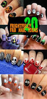 20 frightfull fab halloween nail art tutorials