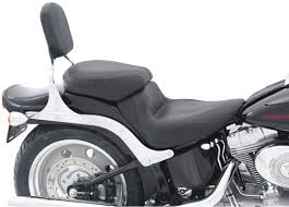 mustang touring seat mustang seat sport vintage rear seat softail wide tire 2006 07