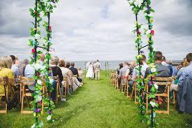 wedding arch northern ireland islandmagee summer wedding michael lynda