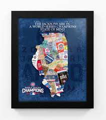 Chicago Cubs Map by 2016 World Series Cubs Vs Indians