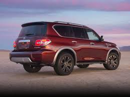 2017 nissan armada cloth interior new 2017 nissan armada price photos reviews safety ratings