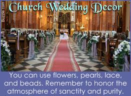 wedding decorations for church how to decorate a church elegantly for a wedding