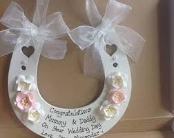 horseshoe wedding gift horseshoe etsy