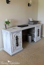 Dresser And Desk Dresser To Desk Transformation Hometalk