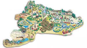 Aquatica Map Seaworld Orlando Theme Park Map Orlando Fl U2022 Mappery Aquariums