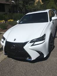 lexus gs 350 f sport white most common car paired with gs in the garage page 7 clublexus