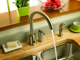 Sensor Faucets Kitchen by 41 Best Kitchen Pinspiration Images On Pinterest Kitchen Faucets