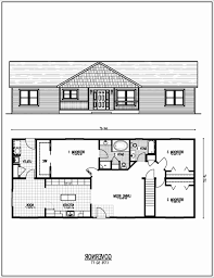 walkout ranch floor plans ranch house plans with walkout basement best of architecture