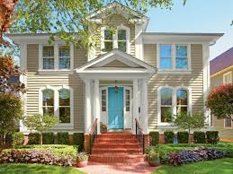 house paint colors exterior ideas brick ranch makeover curb appeal