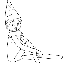 printable elf coloring pages singular elves coloring pages for kids skylanders stealth elf