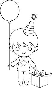birthday coloring pages boy birthday boy coloring page free clip on boys happy birthday coloring