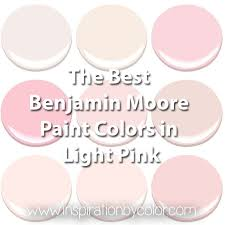 benjamin moore paint colors in light pink the best soft pink
