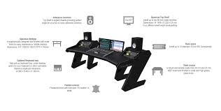 Standard Desk Length by Pro Line White Studio Desk Workstation Furniture