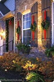 Christmas Outdoor Decorations Usa by Best 25 Exterior Christmas Lights Ideas On Pinterest Outdoor