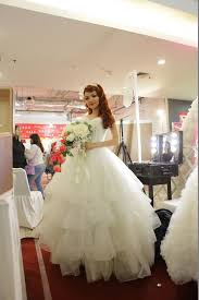 wedding dress bandung wedding expo 2015 by bellasposa bridal bridestory