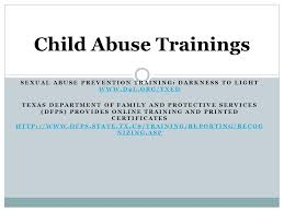 darkness to light online training child abuse child abuse reporting programs tec sexual abuse