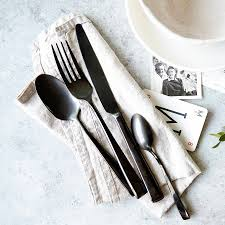 Cutlery Set Anthracite Cutlery Set By The Cutlery Commission