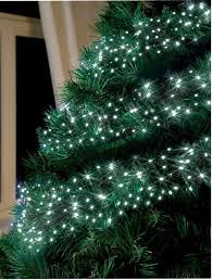 white outdoor lighted christmas trees white led cluster chaser christmas tree lights 288 bulbs xmas