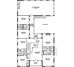 8 bedroom house floor plans european style house plan 8 beds 5 50 baths 8760 sq ft plan 81 652