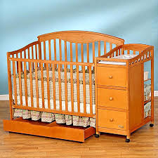 4 In 1 Crib With Changing Table Simplicity Christina 4 In 1 Convertible Crib N Changer Combo