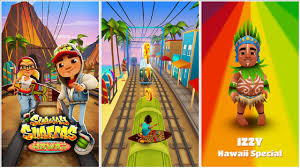 subway surfer mod apk subway surfers hawaii mod apk unlimited coins and