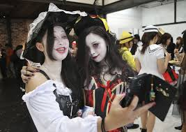 spirit halloween boise idaho no tricks halloween all the rage in japan as costume play the