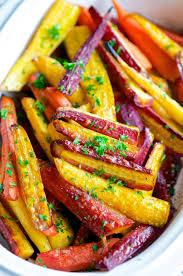 balsamic honey glazed rainbow carrots aberdeen s kitchen