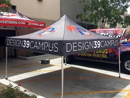 Custom Printed Canopy Tents by Custom Event Tents Lighthouse Advertising 888 810 5170