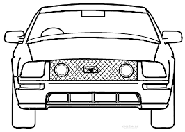 free coloring pages of mustang cars printable mustang coloring pages for kids cool2bkids