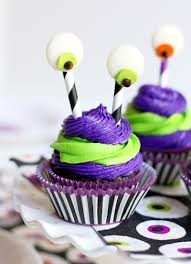Halloween Monster Cakes by Silly Monster Halloween Cupcakes Pizzazzerie