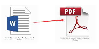 Word To Pdf How To Convert Word To Pdf Free Easily Solved Driver Easy