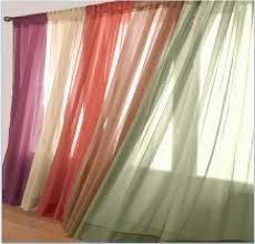 1 pcs sheer voile window panel curtains drape 63