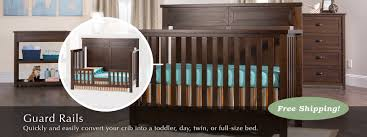 Full Size Bed Rails For Convertible Crib by Bed U0026 Guard Rails Child Craft