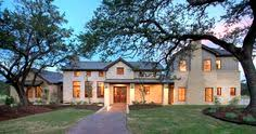 Dark Brick And Stone Combinations Google Search Stuff To Buy - Texas hill country home designs